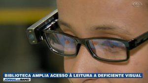 Biblioteca amplia acesso à leitura a deficientes visuais