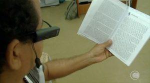 Cegos podem contar com tecnologia para leitura em projeto da prefeitura